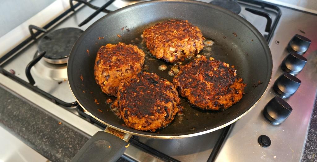 bruine bonen burgers