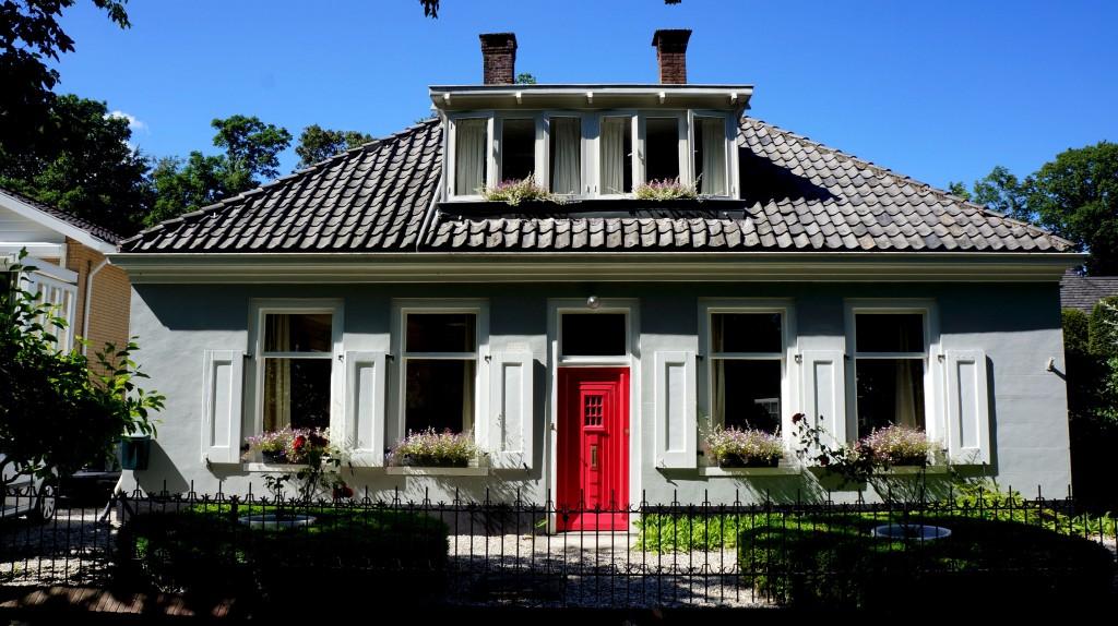 1 roze deur