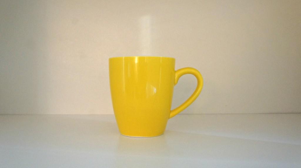 geel kopje
